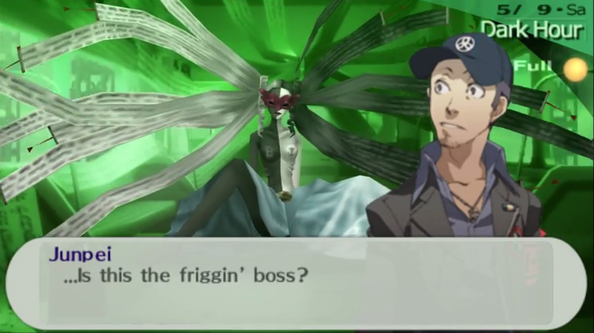 Persona 3 Portable – The Garbage Man Reviews