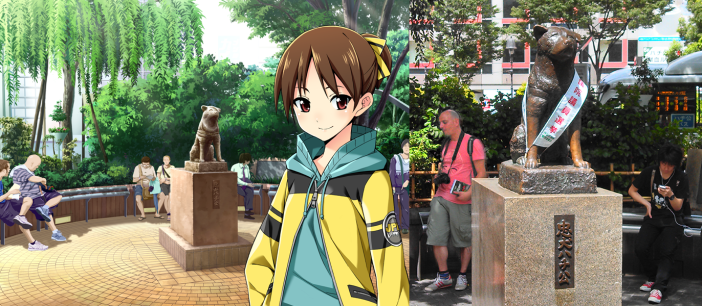Hachiko in Shibuya