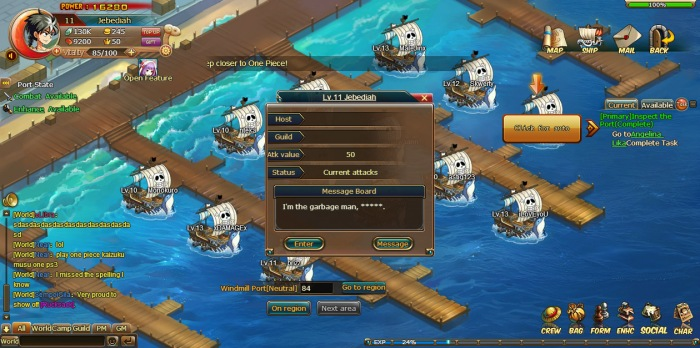 Anime Pirates (One Piece Online)