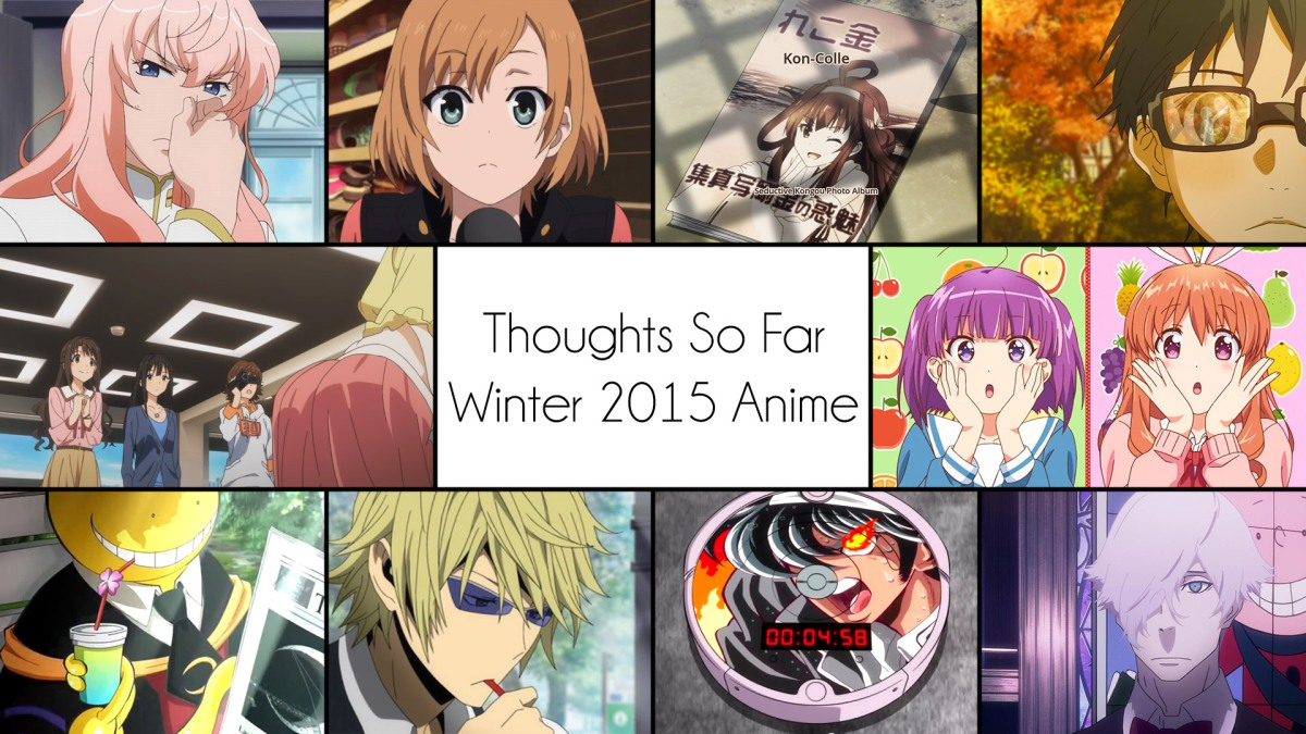 thoughts so far winter 2015 anime the garbage man reviews